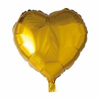 بادکنک فویلی طرح قلب مدل 05  بسته 5 عددی