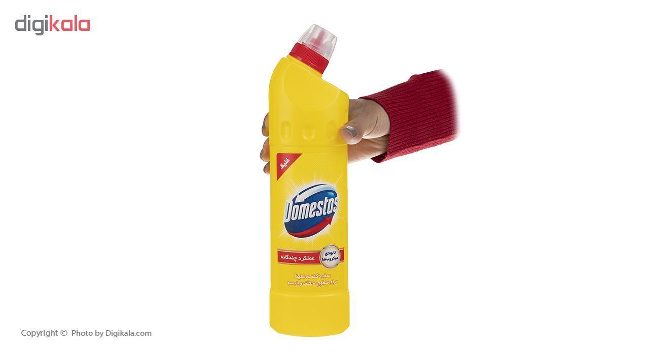 مایع سفیدکننده غلیظ سطوح دامستوس مدل Lemon حجم 750 میلی لیتر main 1 2