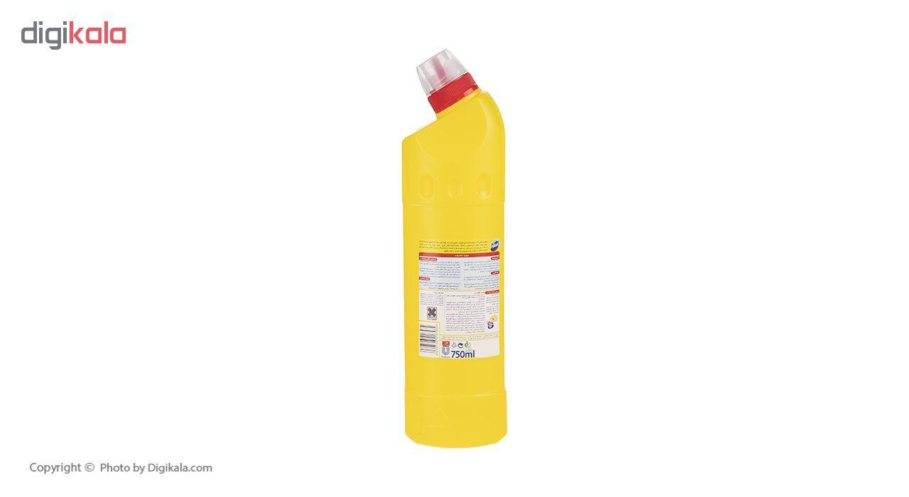 مایع سفیدکننده غلیظ سطوح دامستوس مدل Lemon حجم 750 میلی لیتر main 1 3