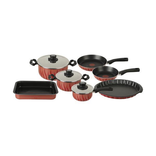سرویس پخت و پز 10 پارچه تفال مدل Tempo flame