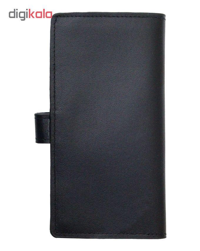 خرید                      کیف پول چرم آرا مدل 002