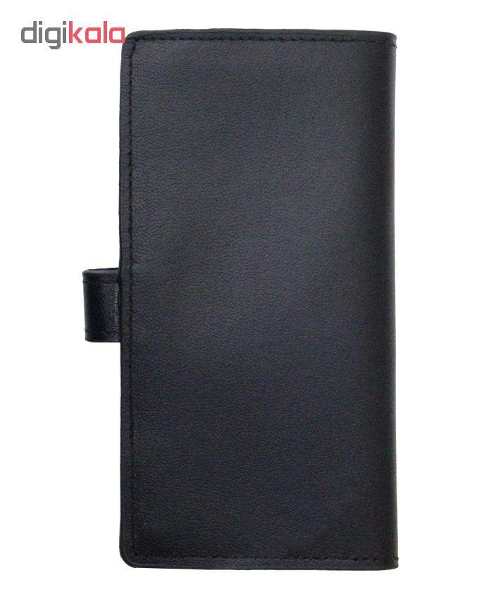 کیف پول چرم آرا مدل 002 main 1 2