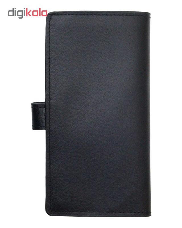 کیف پول چرم آرا مدل 002