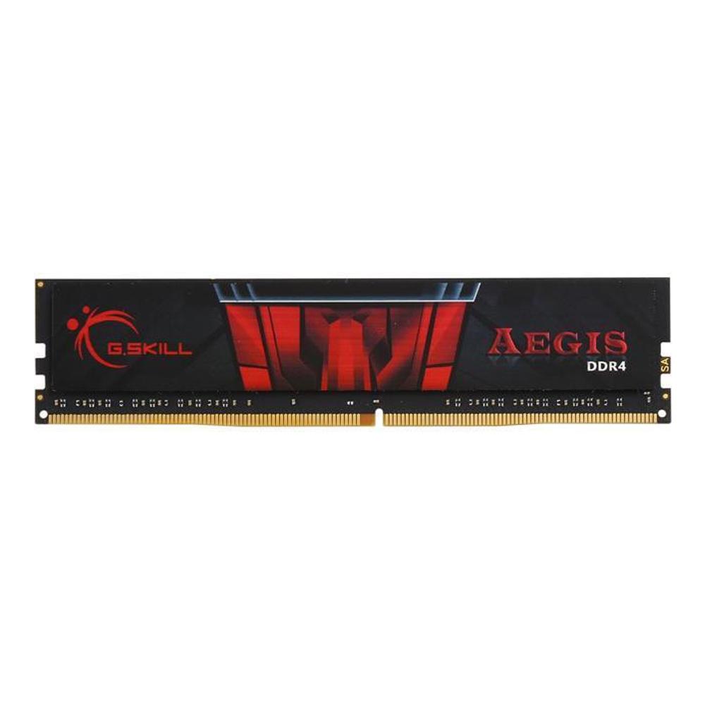 رم دسکتاپ DDR4 تک کاناله 3000 مگاهرتز CL16 جی اسکیل مدل Aegis ظرفیت 16 گیگابایت