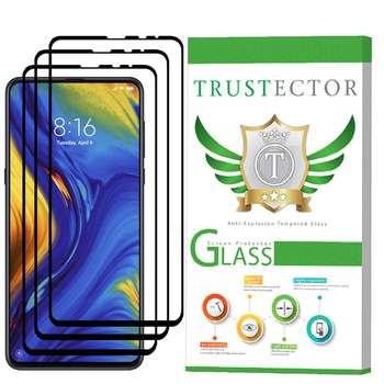 محافظ صفحه نمایش تراستکتور مدل GSS مناسب برای گوشی موبایل شیائومی Mi Mix 3 بسته 3 عددی