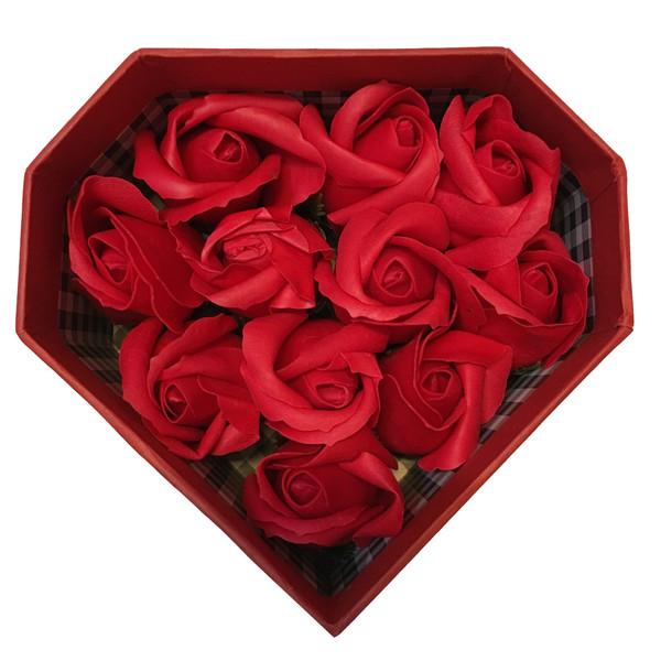 جعبه گل مصنوعی طرح رز مدل aas
