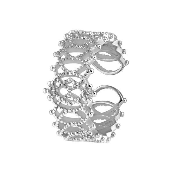 انگشتر نقره زنانه اقلیمه کد AN104