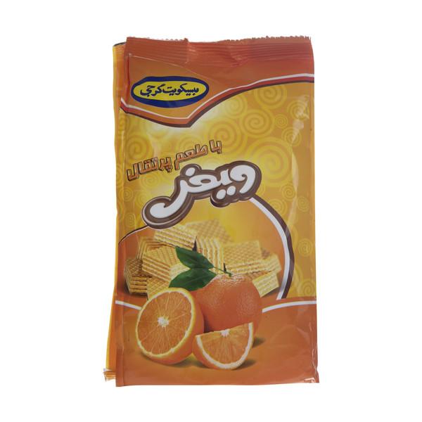 ویفر گرجی یا طعم  پرتقال مقدار 100 گرم