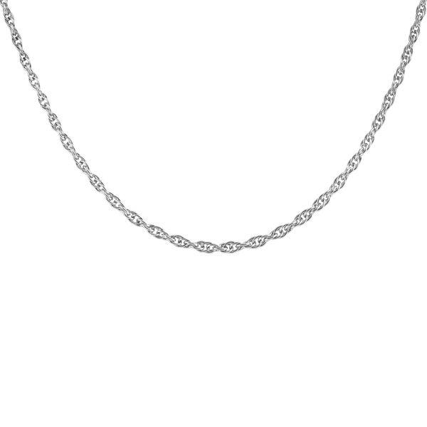 زنجیر نقره زنانه اقلیمه کد ZN33
