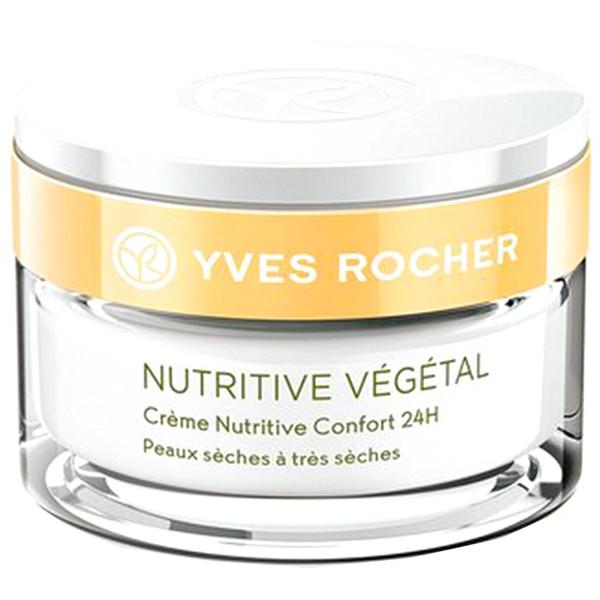 کرم تغذیه کننده پوست ایو روشه مدل Nutritive Vegetal حجم 50 میلی لیتر