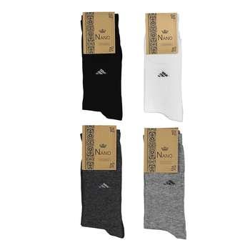 جوراب مردانه کد 01 مجموعه 4 عددی