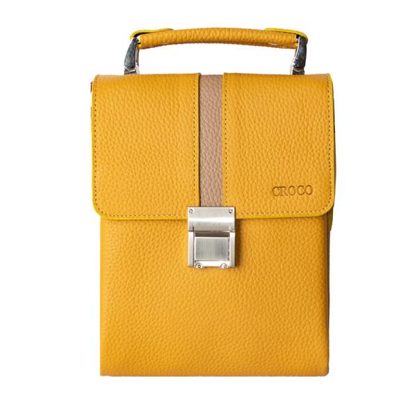 کیف دستی چرم کروکو کد 18004605