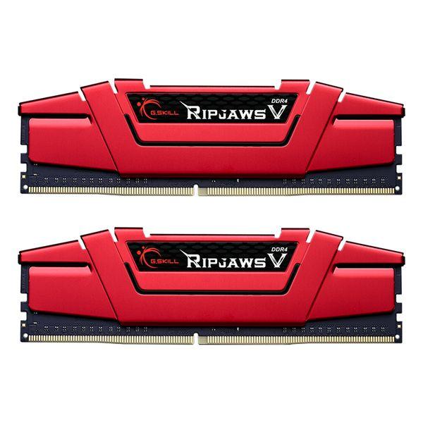 رم دسکتاپ DDR4 دو کاناله 3000 مگاهرتز CL16 جی اسکیل مدل ripjaws v ظرفیت 16 گیگابایت