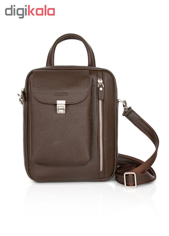 کیف دستی چرم کروکو کد 1001036