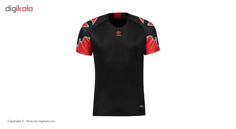 ست پیراهن و شورت ورزشی مردانه پانیل کد 1105BK