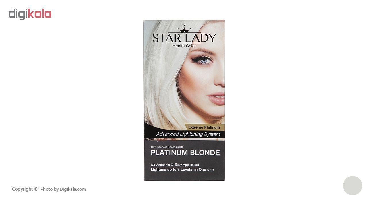 کرم پلاتینه رنگ مو استار لیدی مدل Blonde حجم 120 میلی لیتر main 1 6