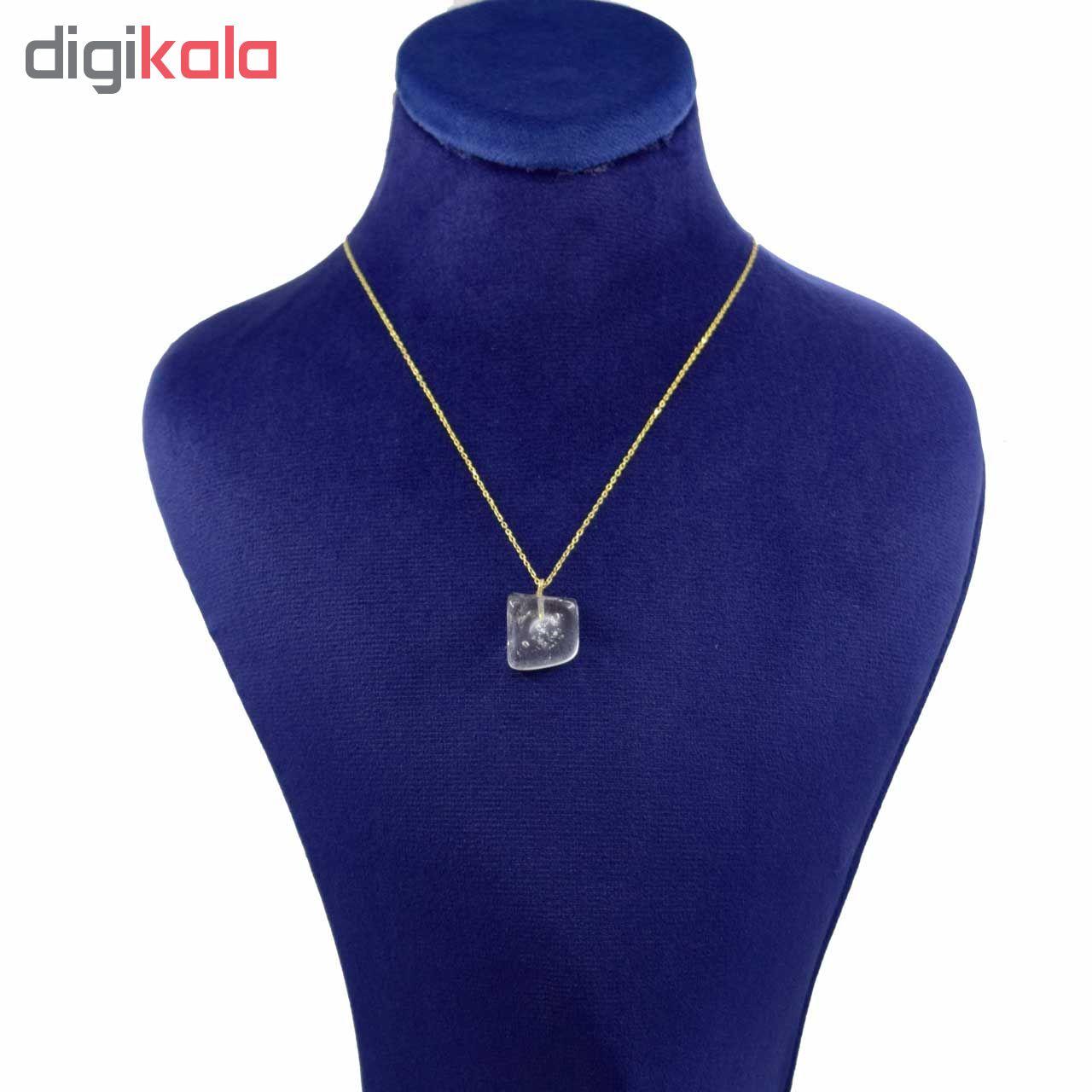 گردنبند طلا 18 عیار زنانه کانیار گالری کد 1190