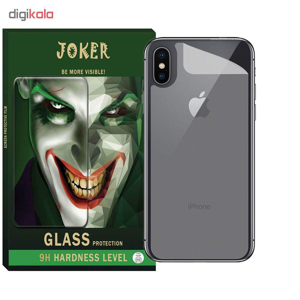 محافظ صفحه نمایش و پشت گوشی جوکر مدل FUM-01 مناسب برای گوشی موبایل اپل Iphone Xs main 1 2