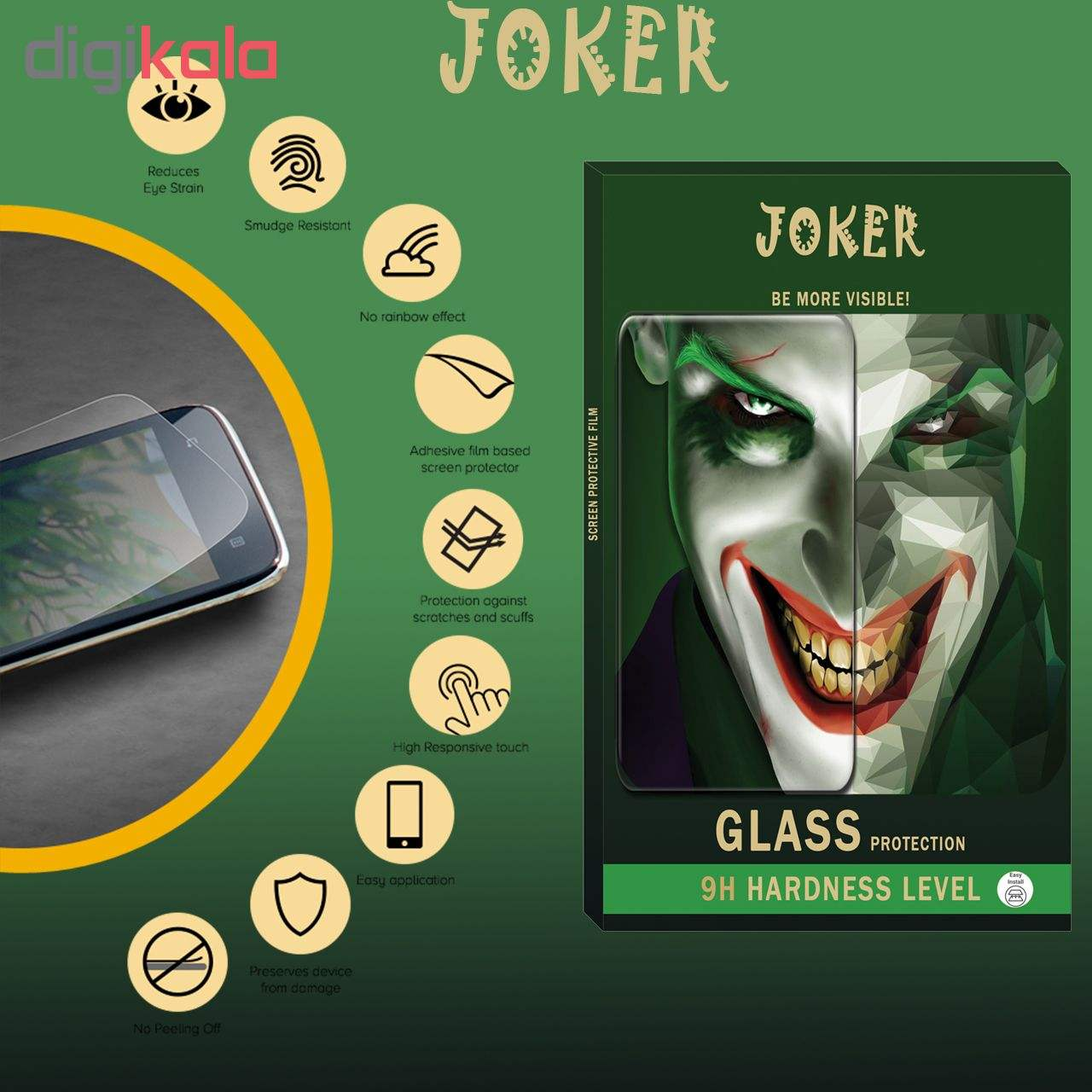 محافظ صفحه نمایش و پشت گوشی جوکر مدل FUM-01 مناسب برای گوشی موبایل اپل Iphone Xs main 1 6