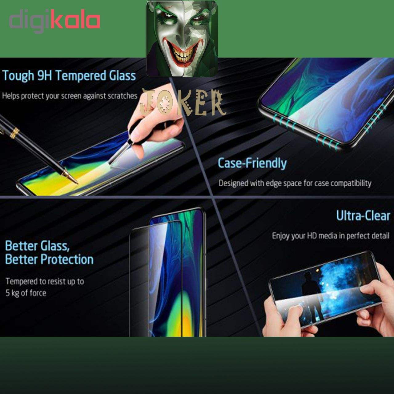 محافظ صفحه نمایش و پشت گوشی جوکر مدل FUM-01 مناسب برای گوشی موبایل اپل Iphone Xs Max main 1 7
