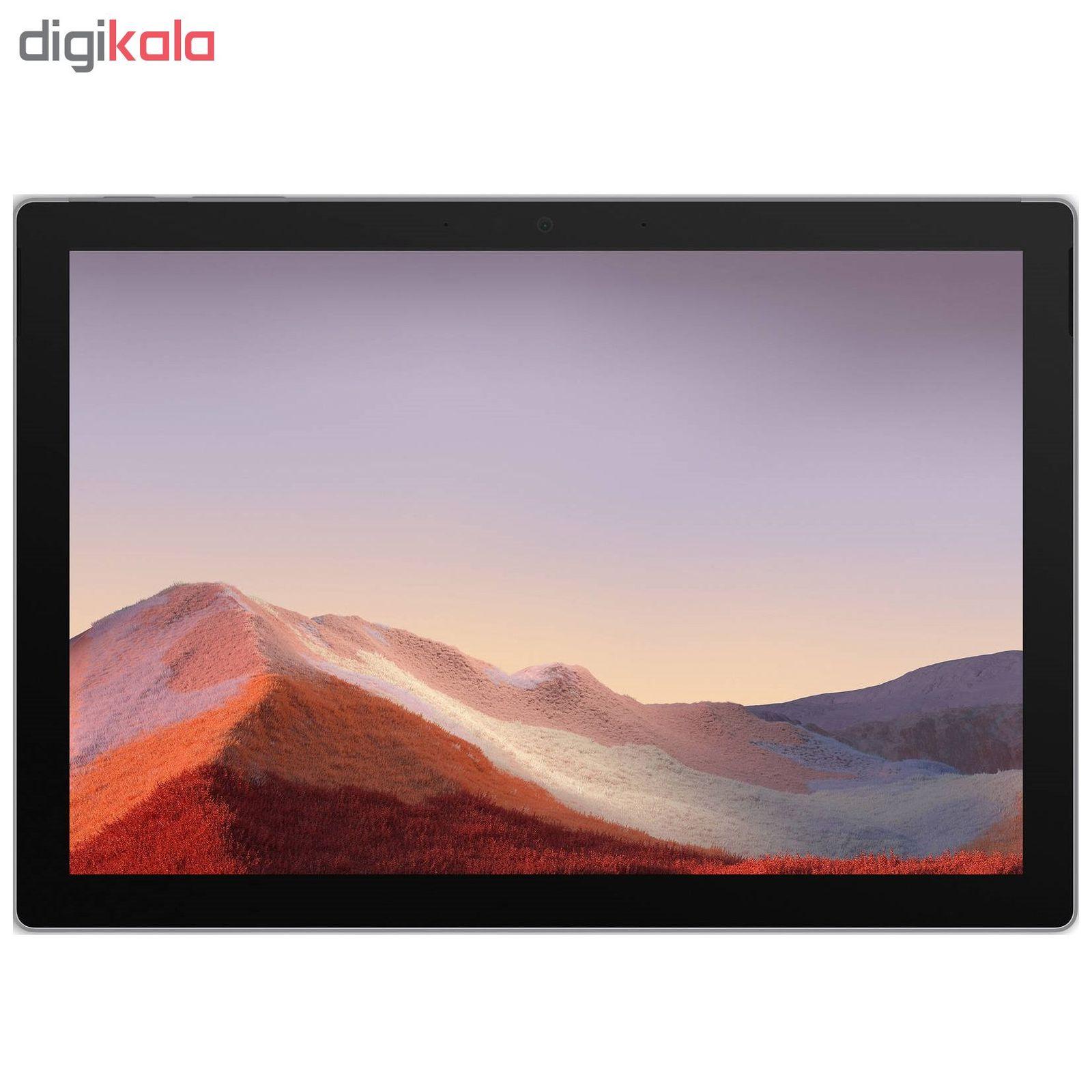 تبلت مایکروسافت مدل Surface Pro 7 - B به همراه کیبورد Black Type Cover main 1 4