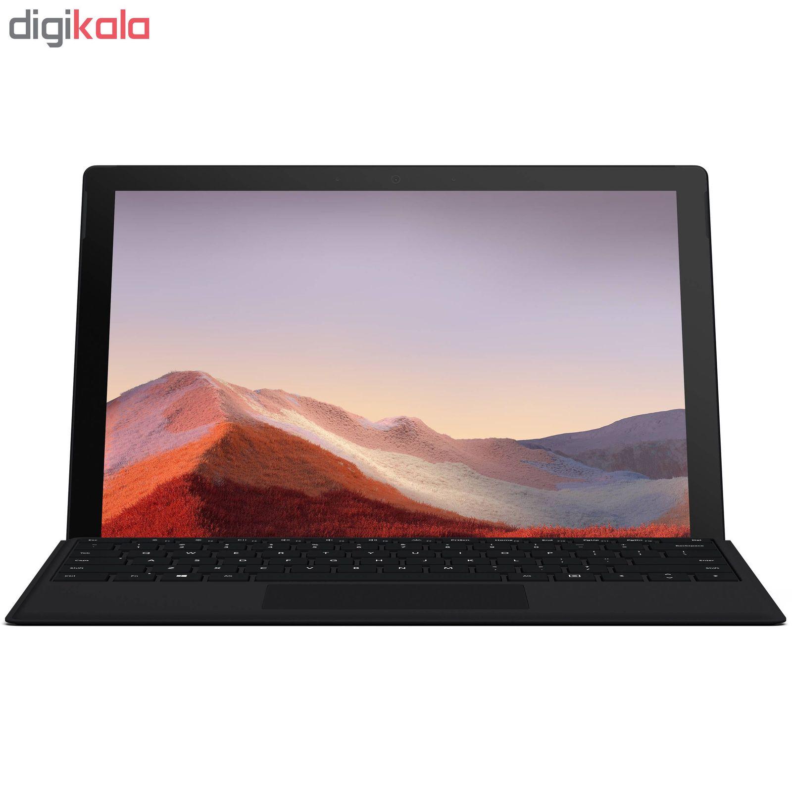 تبلت مایکروسافت مدل Surface Pro 7 - C به همراه کیبورد Black Type Cover main 1 2