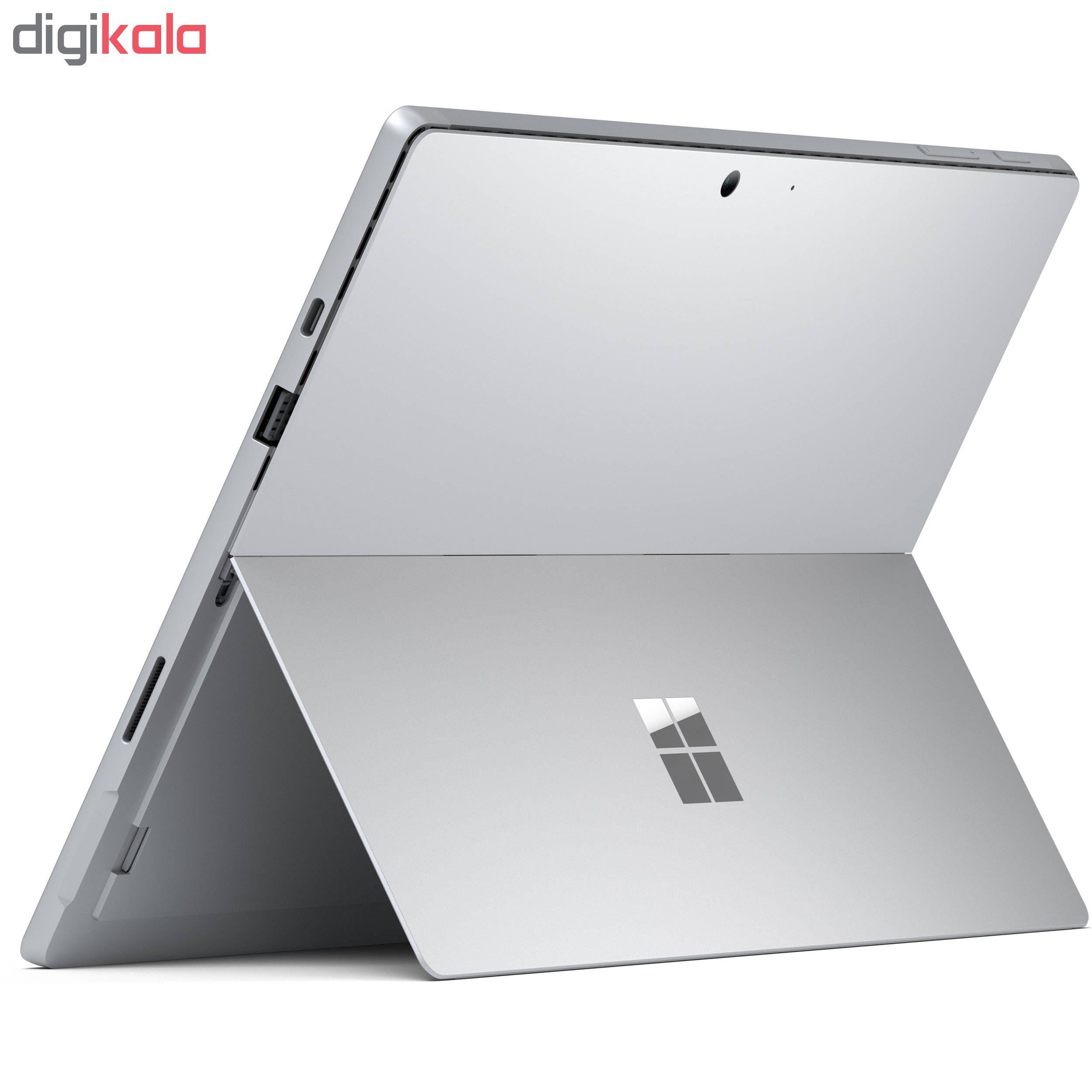 تبلت مایکروسافت مدل Surface Pro 7 - F به همراه کیبورد Black Type Cover main 1 6