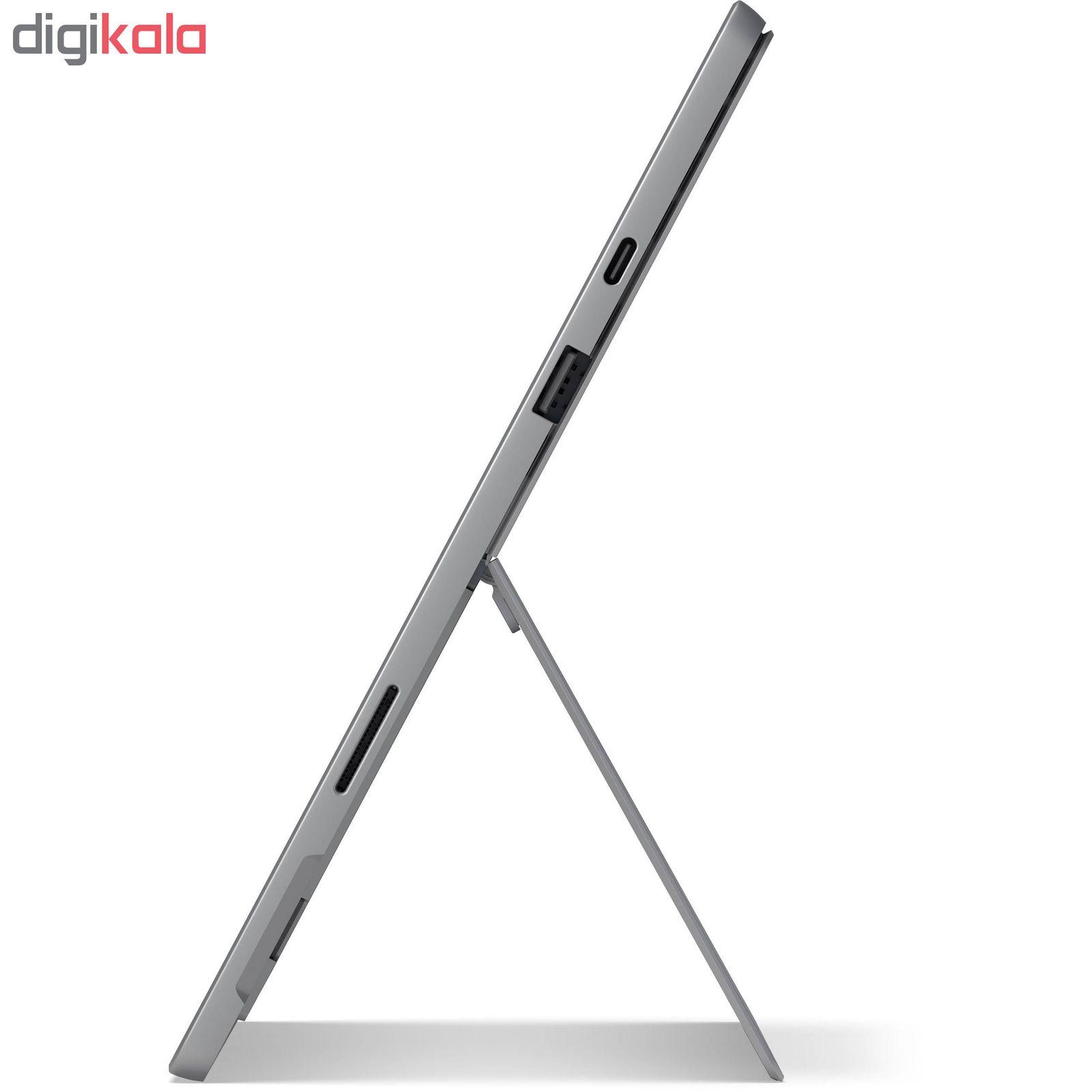 تبلت مایکروسافت مدل Surface Pro 7 - F به همراه کیبورد Black Type Cover main 1 8