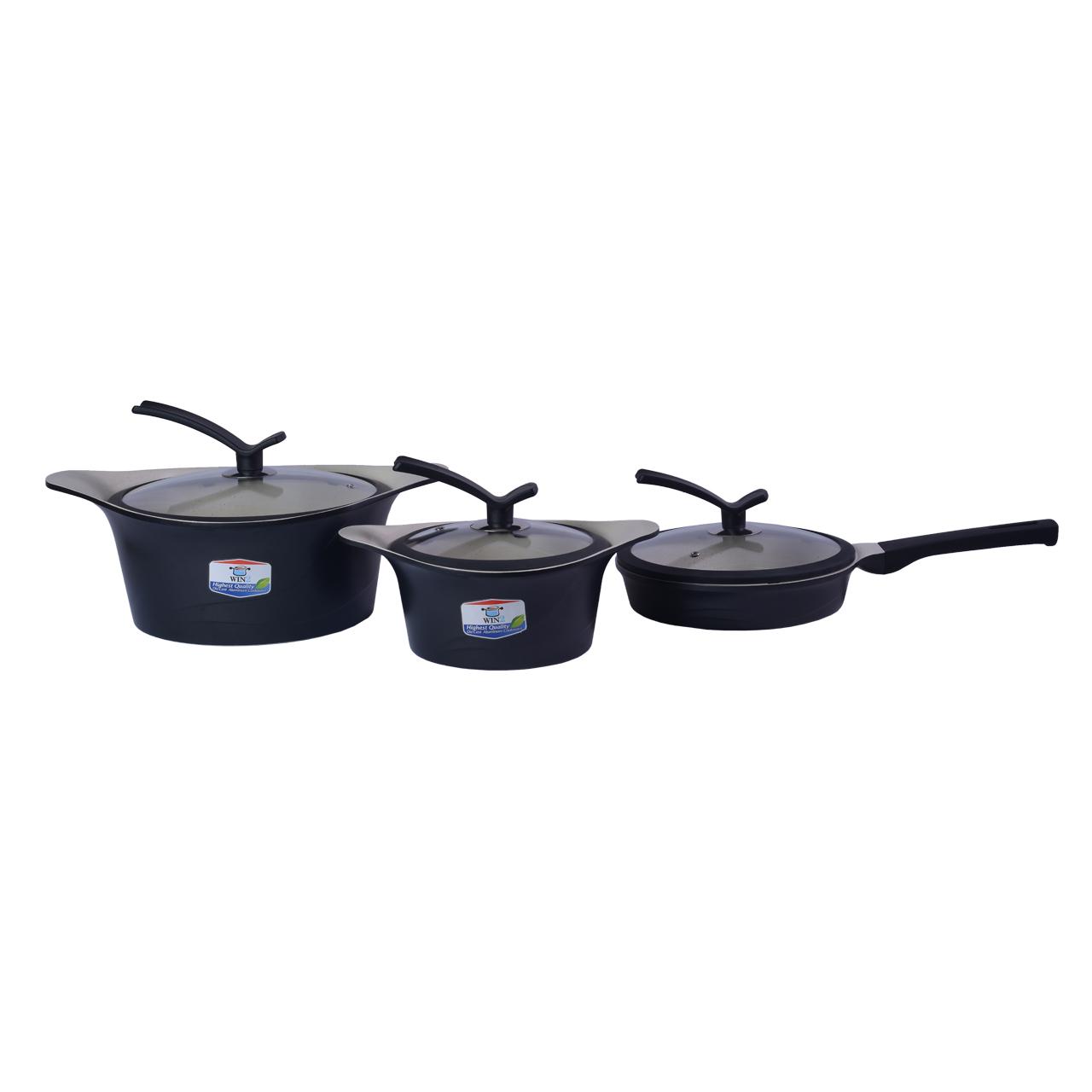 سرویس پخت و پز 8 پارچه وین تو مدل korea c
