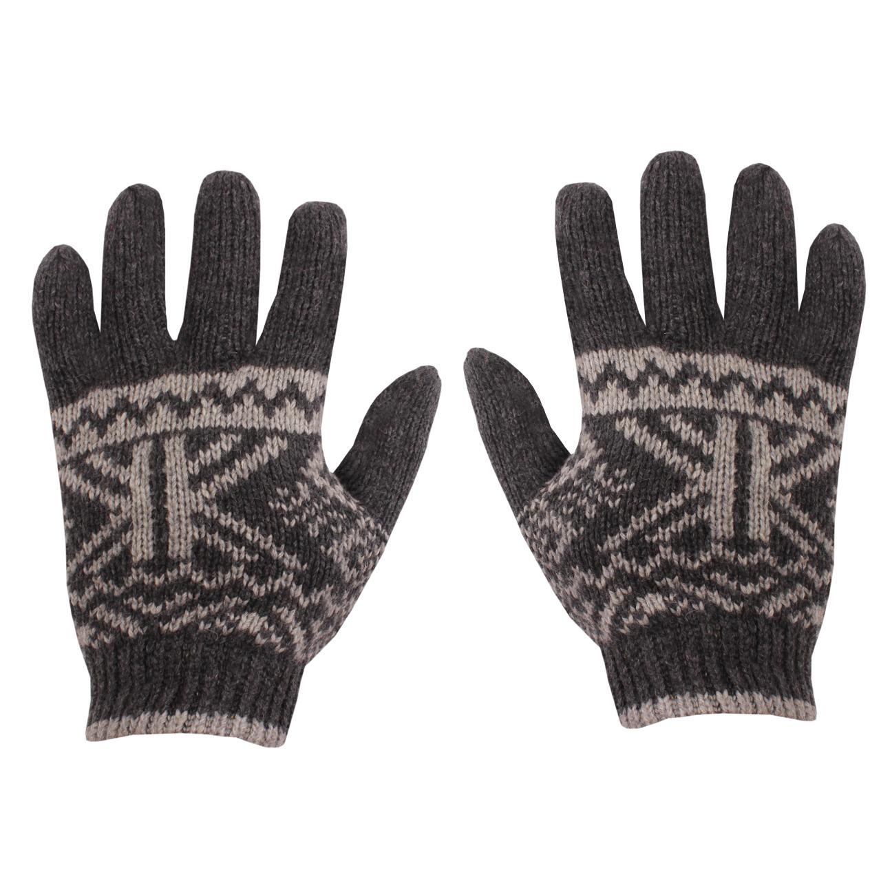 دستکش بافتنی مردانه کد 05