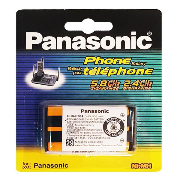 باتری تلفن بی سیم پاناسونیک کد HHR-P104