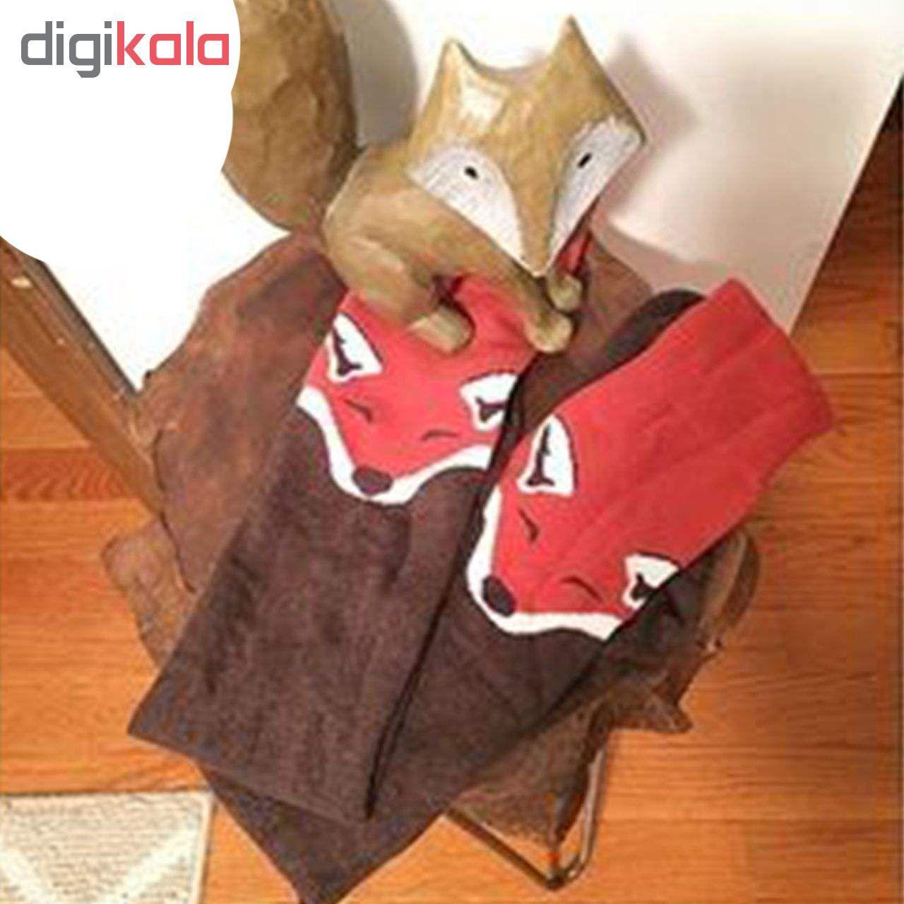 جوراب زنانه طرح روباه کد 020 -  - 5