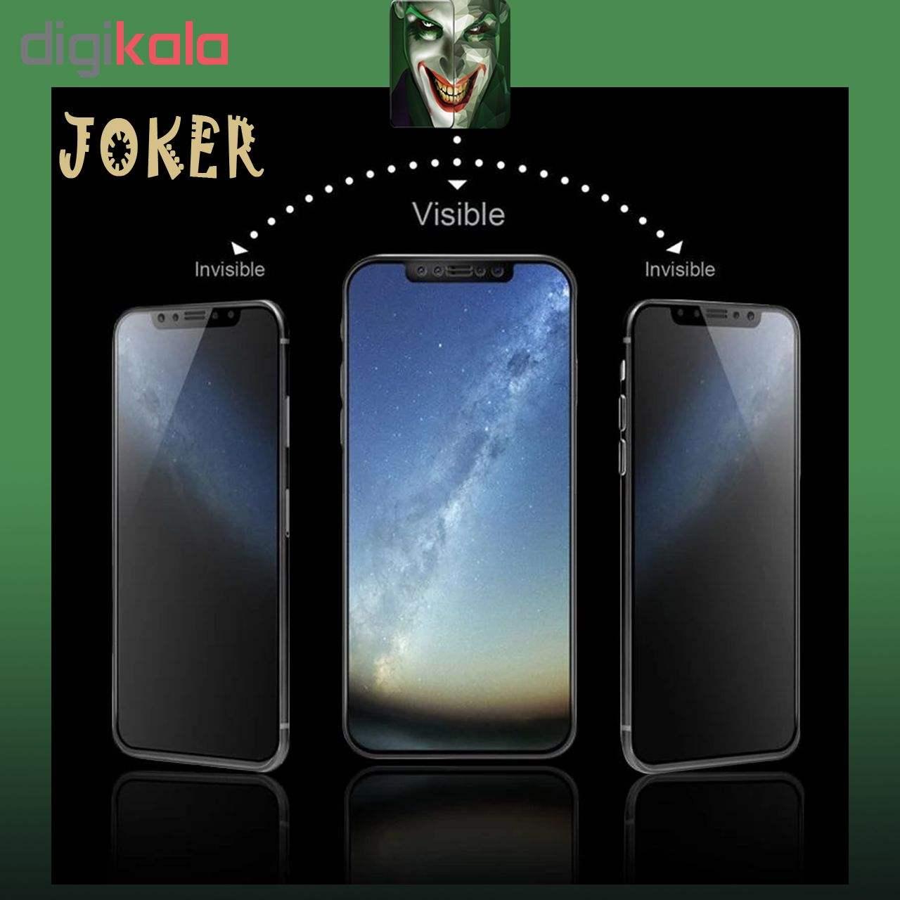 محافظ صفحه نمایش حریم شخصی و پشت گوشی   جوکر مدل FUM-01 مناسب برای گوشی موبایل اپل Iphone Xs  به همراه محافظ لنز دوربین  main 1 8