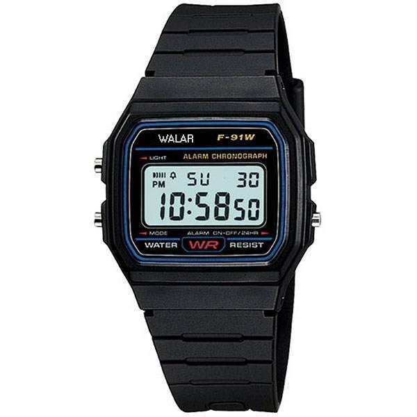 ساعت مچی دیجیتال والار مدل  WA-F-91W - M