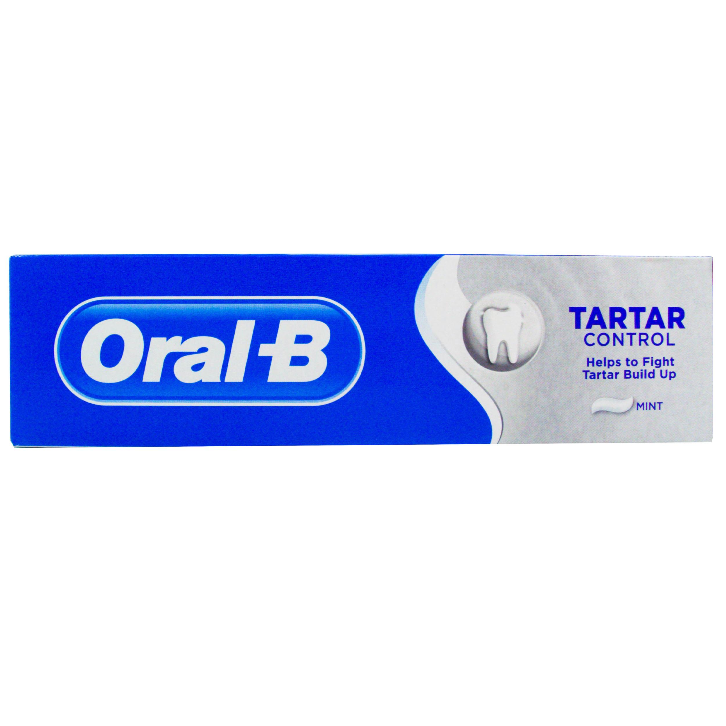 خرید                      خمیر دندان اورال-بی مدل Tartar حجم 100 میلی لیتر