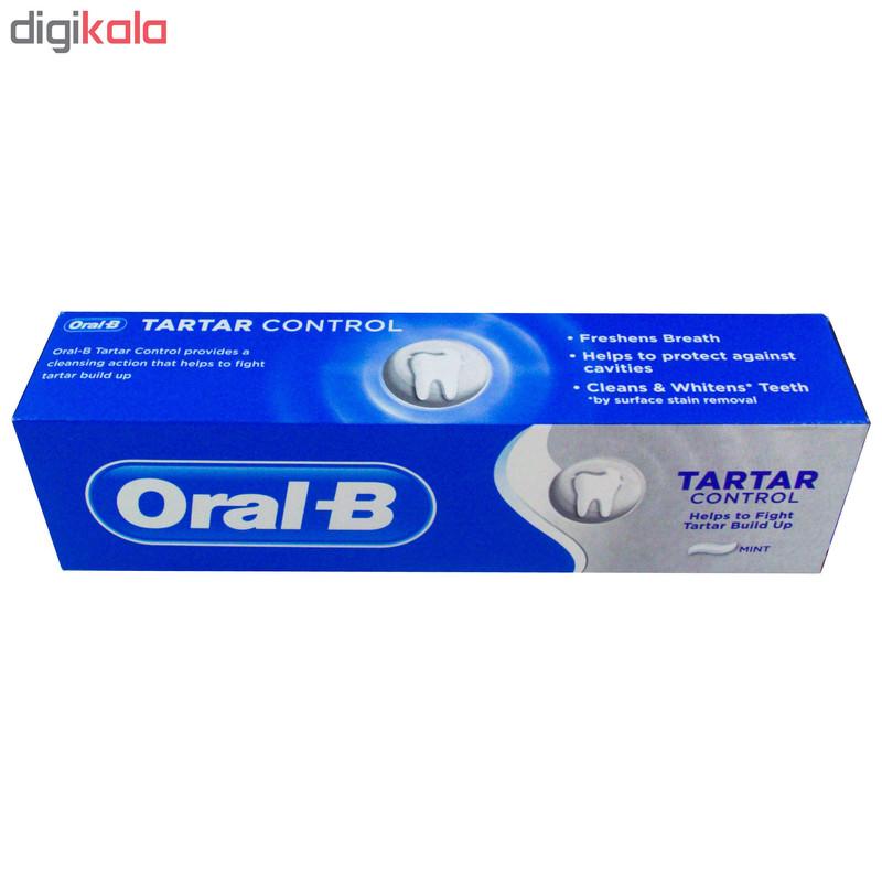 خمیر دندان اورال-بی مدل Tartar حجم 100 میلی لیتر