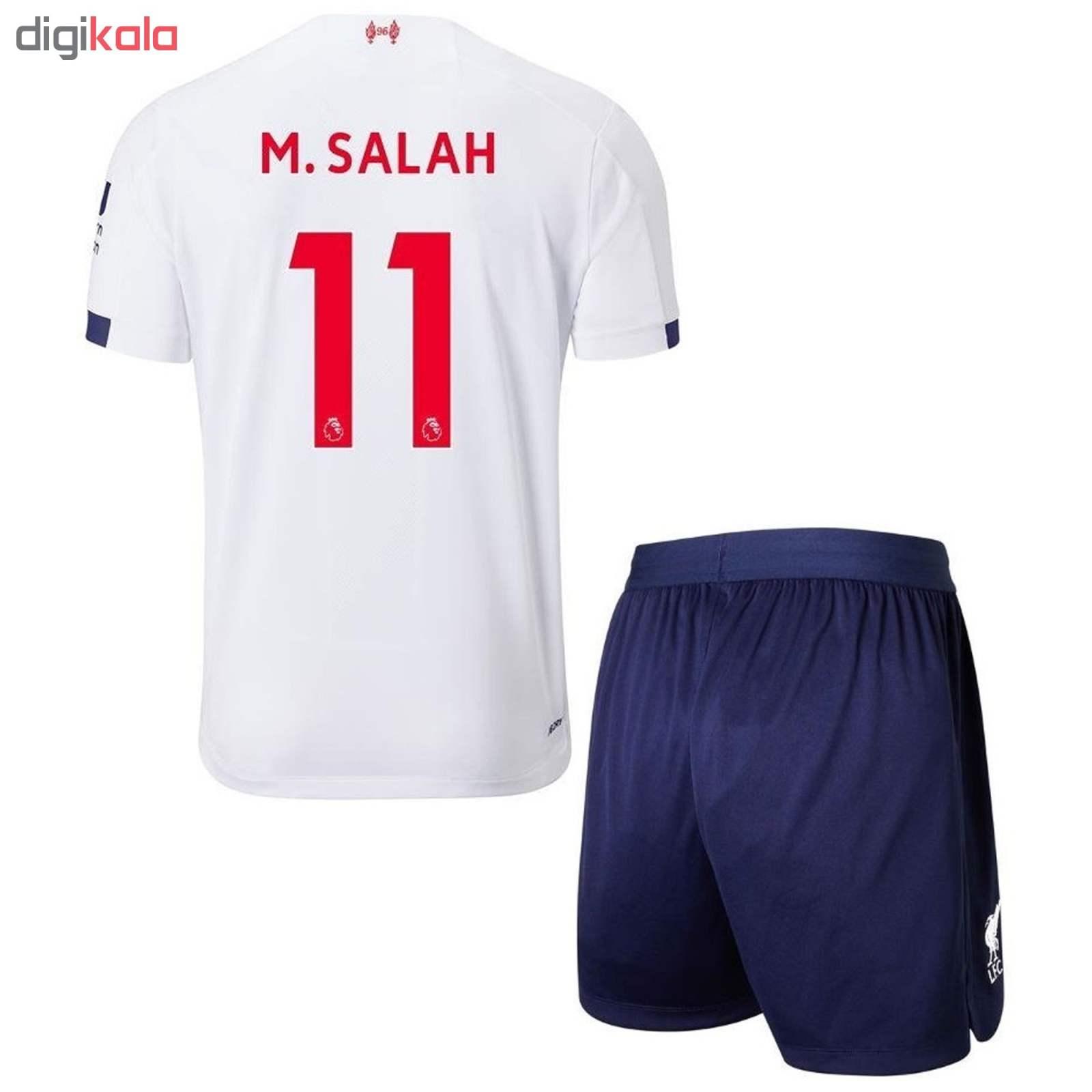 ست پیراهن و شورت ورزشی پسرانه طرح لیورپول کد 22020 main 1 1