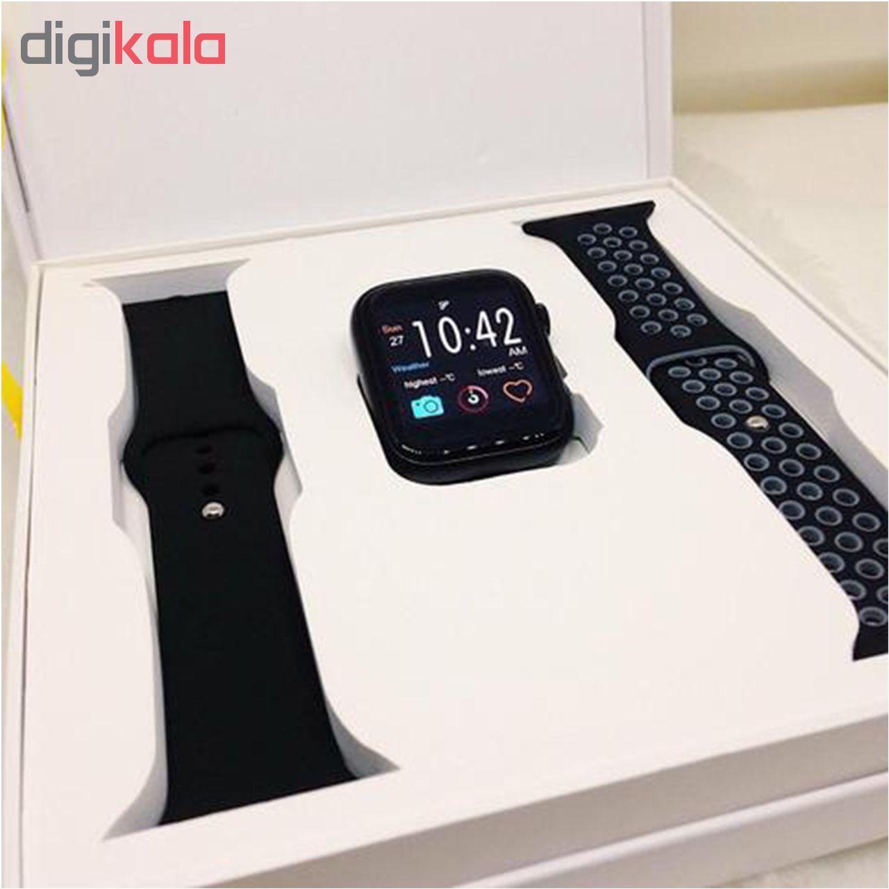 ساعت هوشمند مدل IWO 11 plus main 1 4