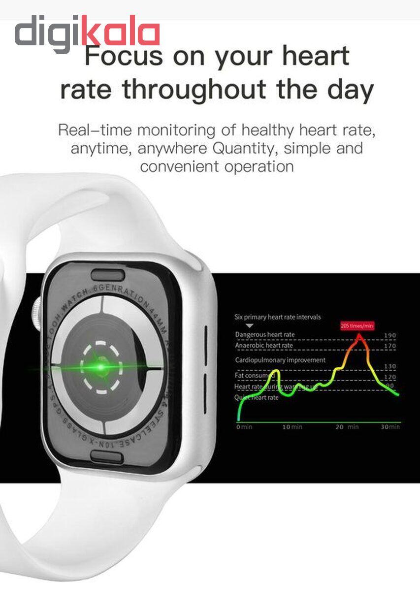 ساعت هوشمند مدل IWO 11 plus main 1 6