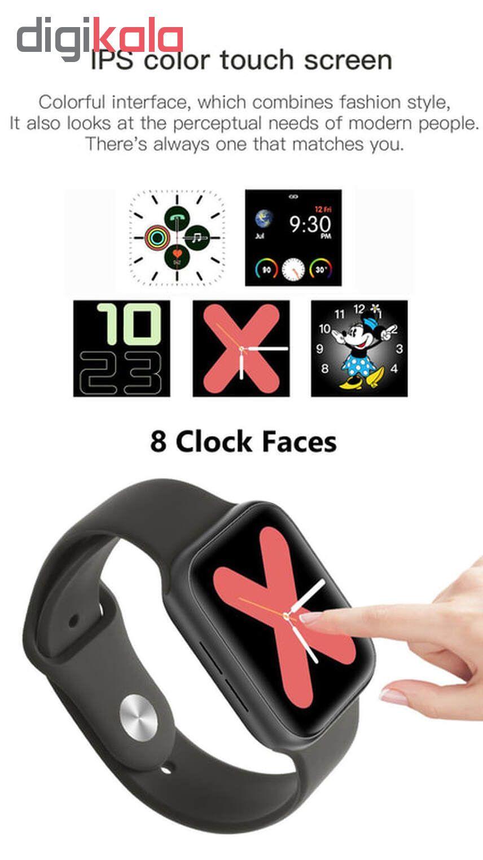 ساعت هوشمند مدل IWO 11 plus main 1 9