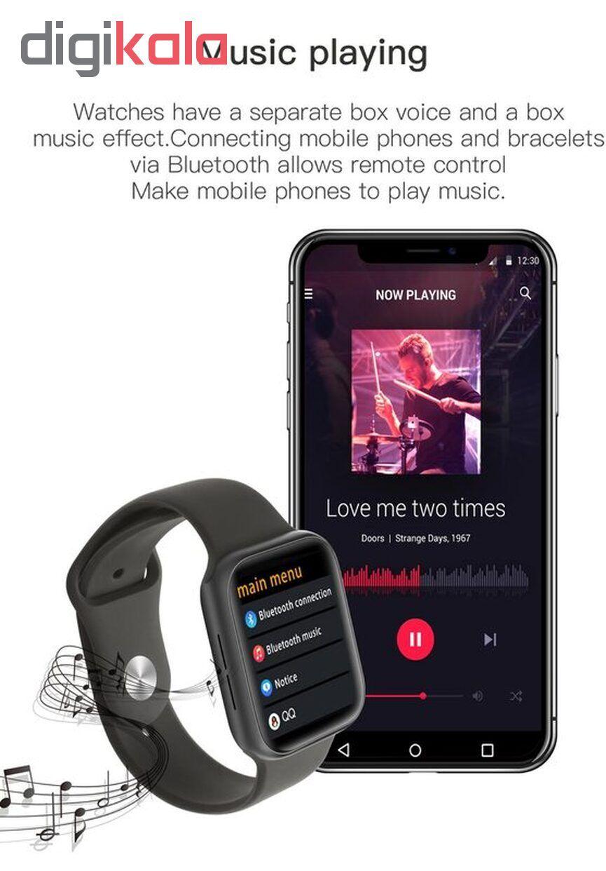 ساعت هوشمند مدل IWO 11 plus main 1 12