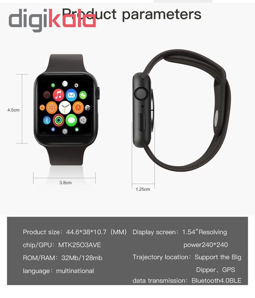 ساعت هوشمند مدل IWO 11 plus main 1 17