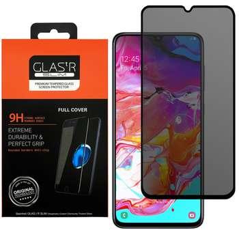 محافظ صفحه نمایش حریم شخصی مدل GLASTR مناسب برای گوشی موبایل سامسونگ Galaxy A70