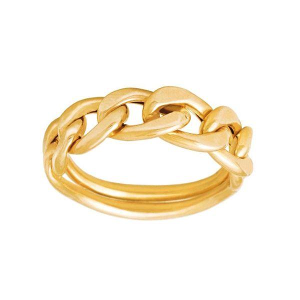 انگشتر طلا 18 عیار زنانه گالری مرجان کد 0916