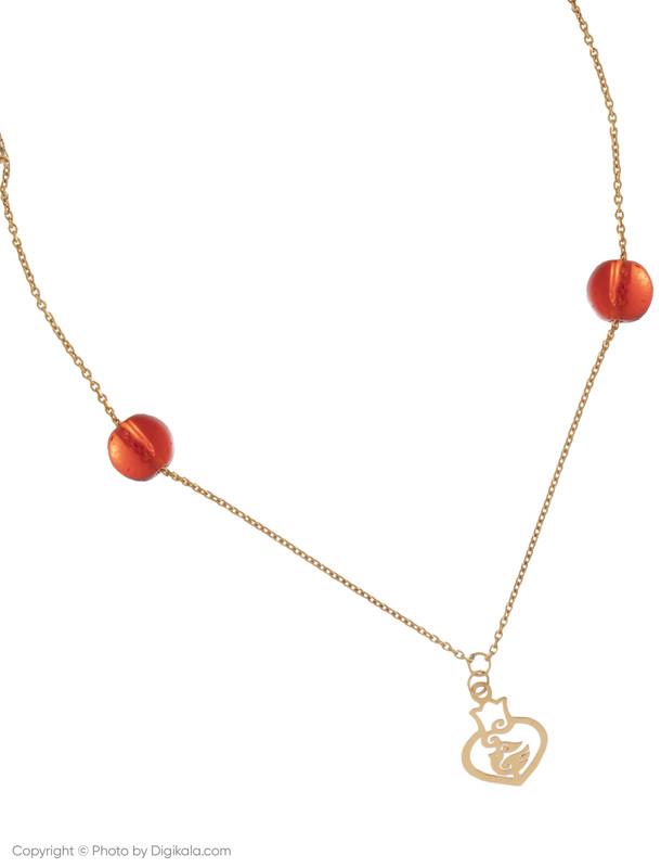 پابند طلا 18 عیار زنانه زرمان مدل ZMA0123