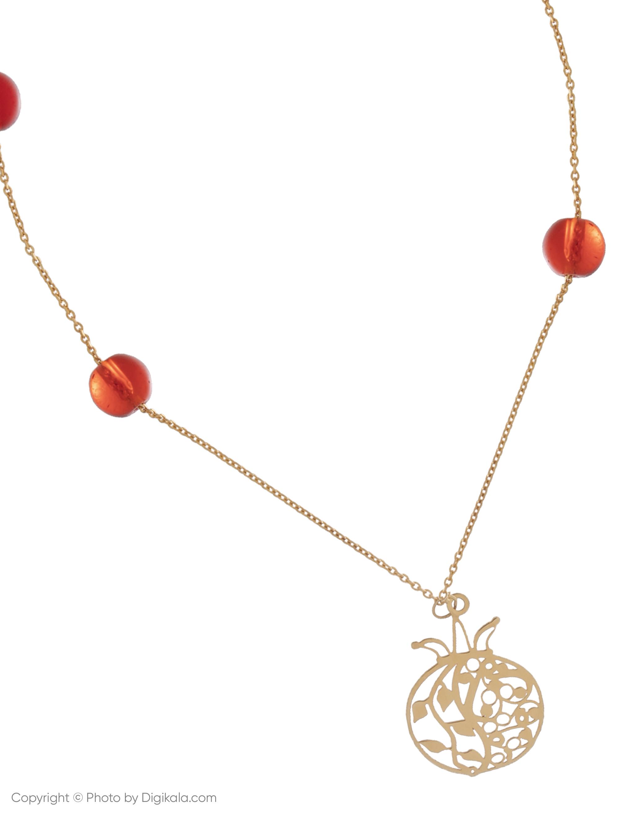 پابند طلا 18 عیار زنانه مایا ماهک مدل MA0121