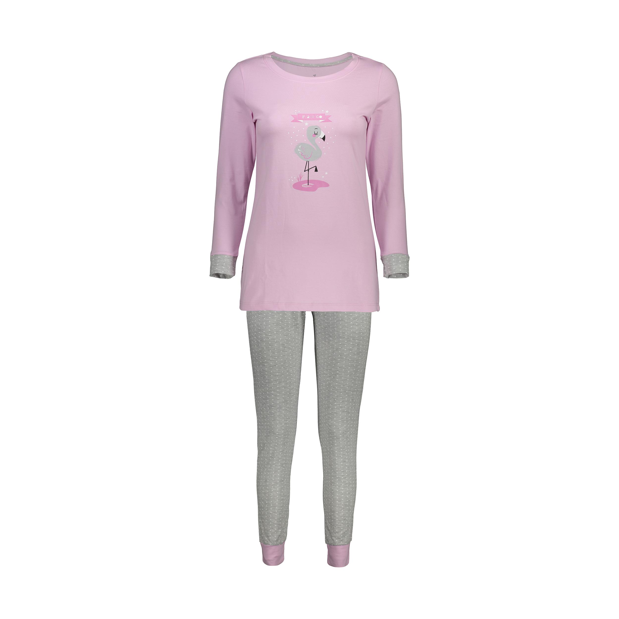 ست تی شرت و شلوار راحتی زنانه ناربن مدل 1521151-84