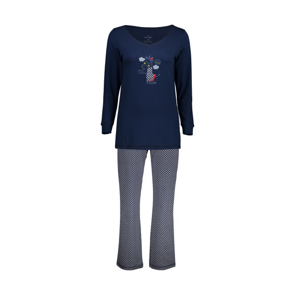 ست تی شرت و شلوار راحتی زنانه ناربن مدل1521168-60