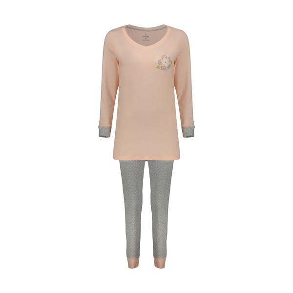 ست تی شرت و شلوار راحتی زنانه ناربن مدل 1521152-21