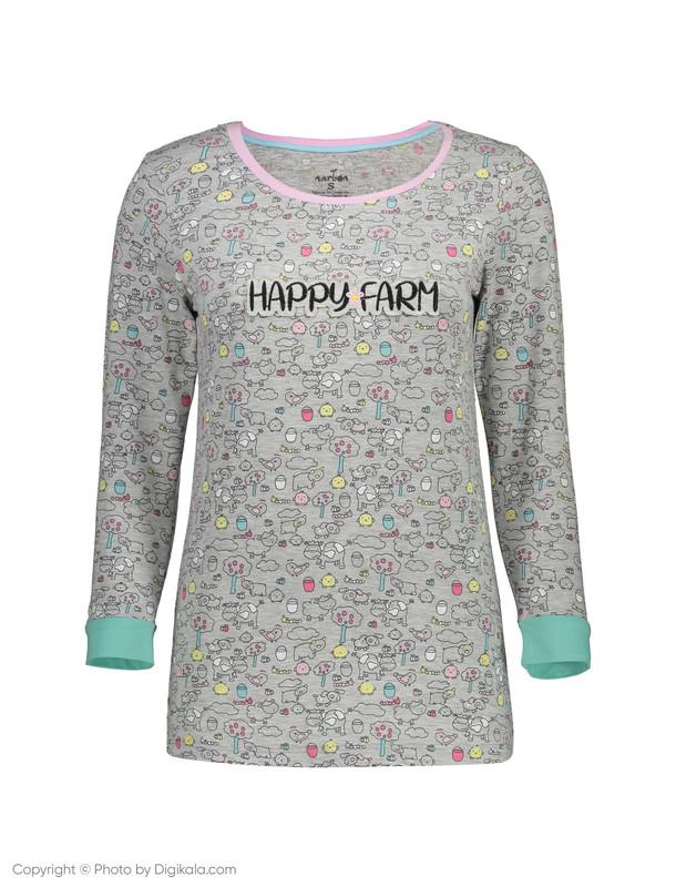 ست تی شرت و شلوار راحتی زنانه ناربن مدل 1521160-90